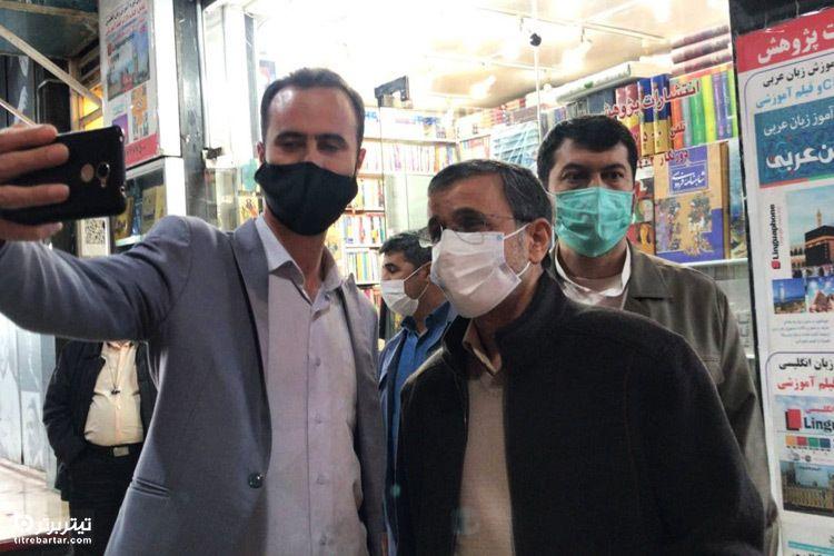 فیلم| اولین واکنش محمود احمدی نژاد به صحبت های حدادعادل