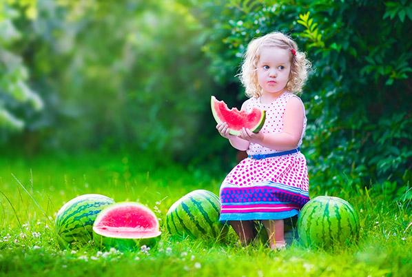 خواص هندوانه در تابستان