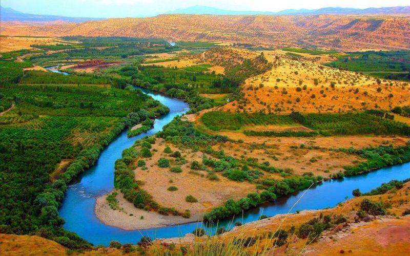 رودخانه های زیبای کرمانشاه را بشناسید