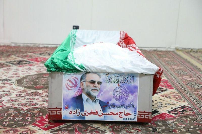 فیلم| جزییات مراسم تشییع پیکر شهید فخریزاده در تهران