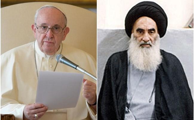ماجرای دیدار پاپ فرانسیس با آیت الله سیستانی چیست؟