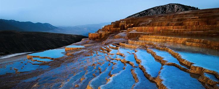 دیدنی ترین چشمه های پلکانی جهان