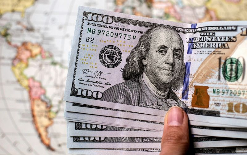 شیب قیمت دلار سربالایی شد
