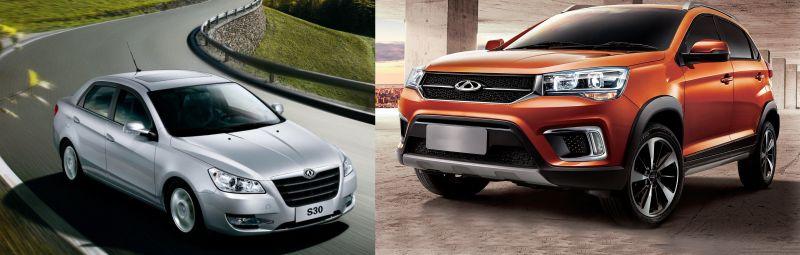 تفاوت دانگ فنگ S30 با ام وی ام X22