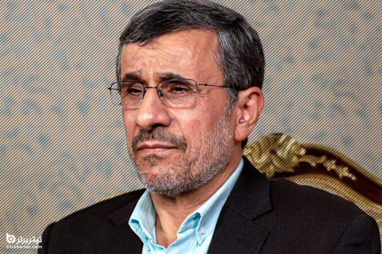 خبرساز شدن کیف ضدگلوله احمدی نژاد در بازدید از سی سخت+تصاویر