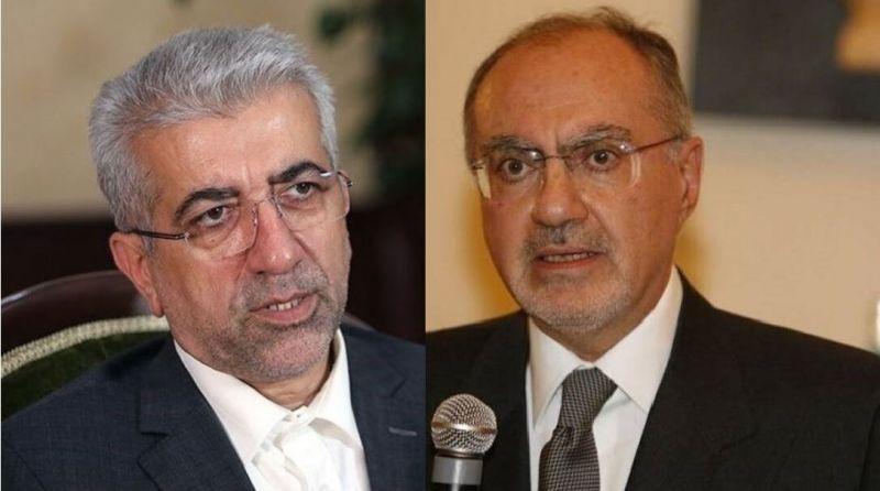 دیدار وزیر نیرو ایران با وزیر دارایی عراق برای توسعه همکاری ها