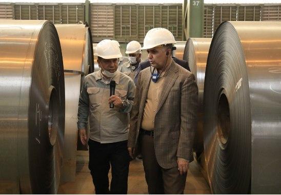 عضو هیئت مدیره فولاد مبارکه در بازدید از خطوط تولید این شرکت عنوان کرد: