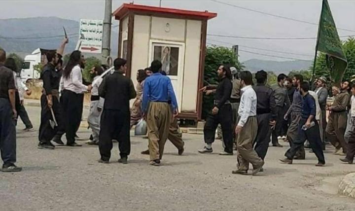 جنجال در خاکسپاری شیخ محمد کسنزانی