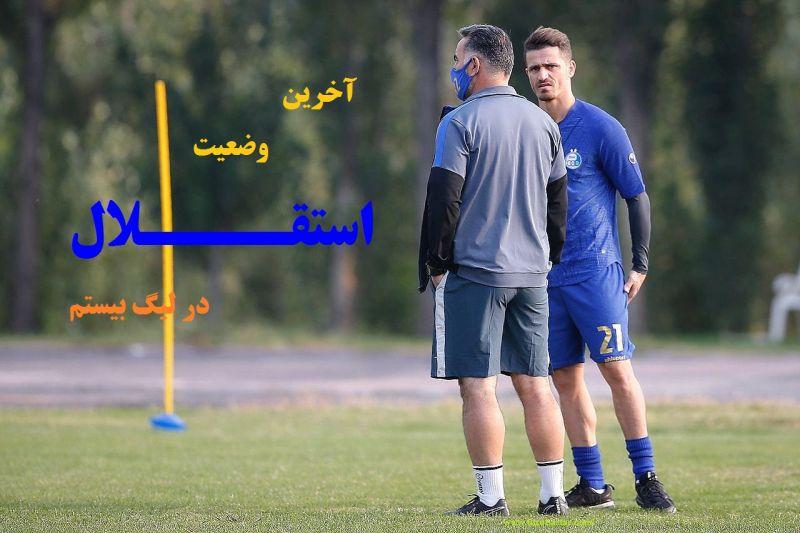 بررسی تیم استقلال در لیگ بیستم+اسامی بازیکنان جدید