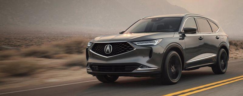 معرفی کامل خودرو آکورا MDX 2022