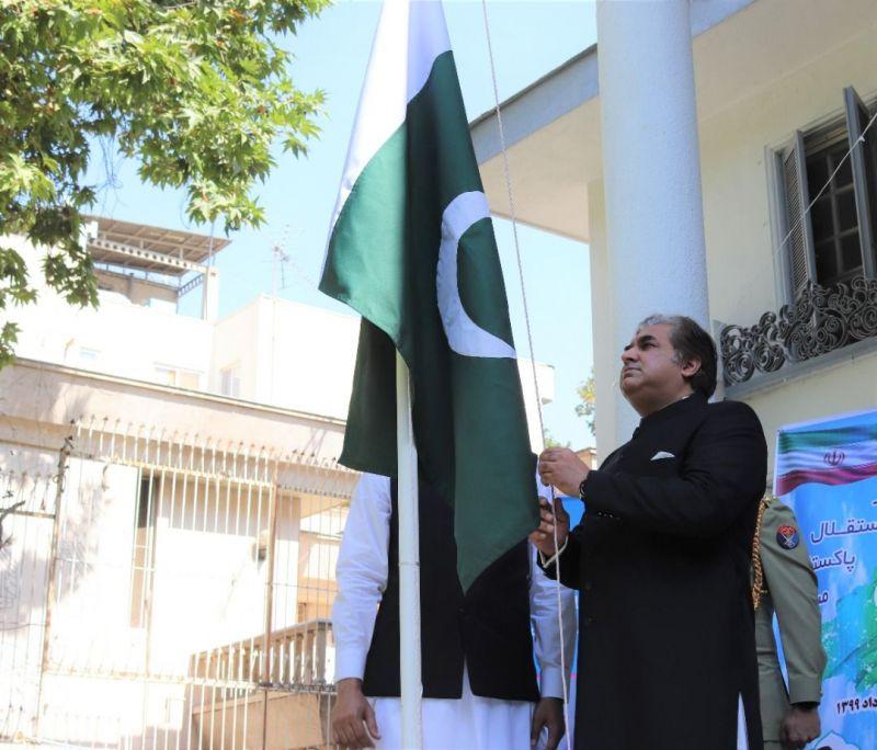 برگزاری جشن یوم آزادی پاکستان در تهران