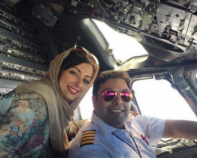 فیلم  ماجرای جدایی نفیسه روشن از همسر خلبانش!
