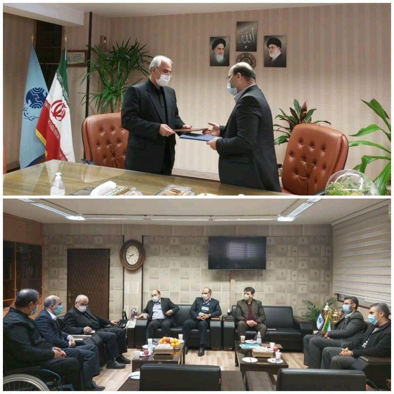 دیدار مدیر مخابرات اصفهان با رئیس دانشگاه آزاد خوراسگان