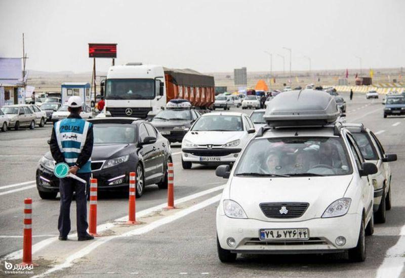 شرایط سفر با خودروهای شخصی در نوروز 1400
