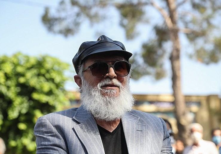 امین تارخ در مراسم تشییع مرحوم محمدعلی کشاورز چه گفت؟+تصاویر