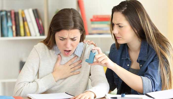 درمان خانگی تنگی نفس