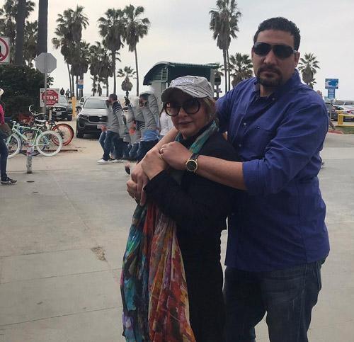 ماجرای زندگی لاله صبوری با همسر آمریکایی اش!