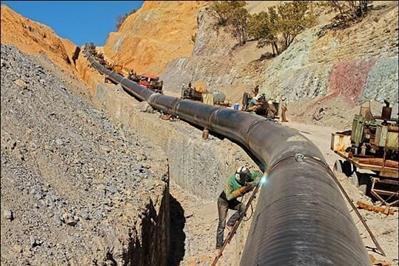 فولاد مبارکه با تولید 400 هزار تن تختال API انتقال 1000 کیلومتری نفت کشور را محقق کرد