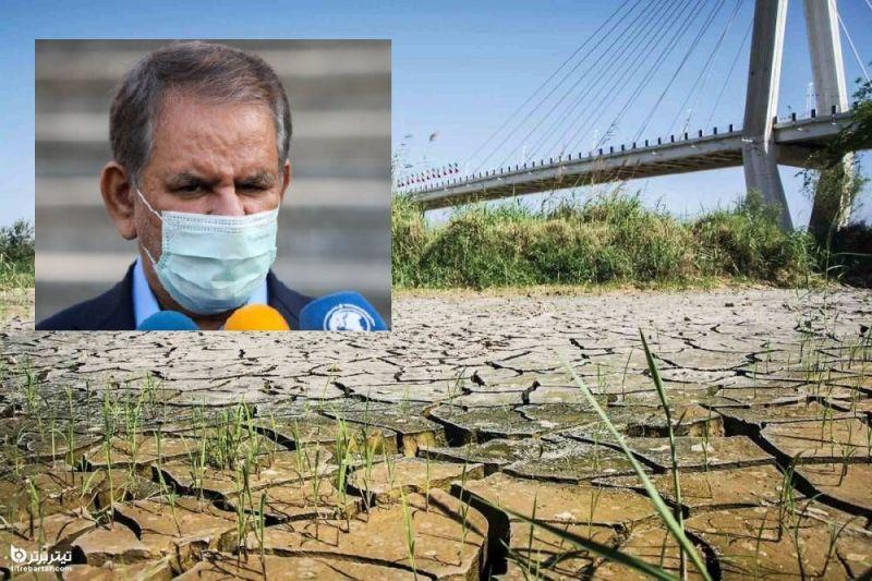 در پی اعتراض مردم خوزستان به مشکل کم آبی در تیر 1400: