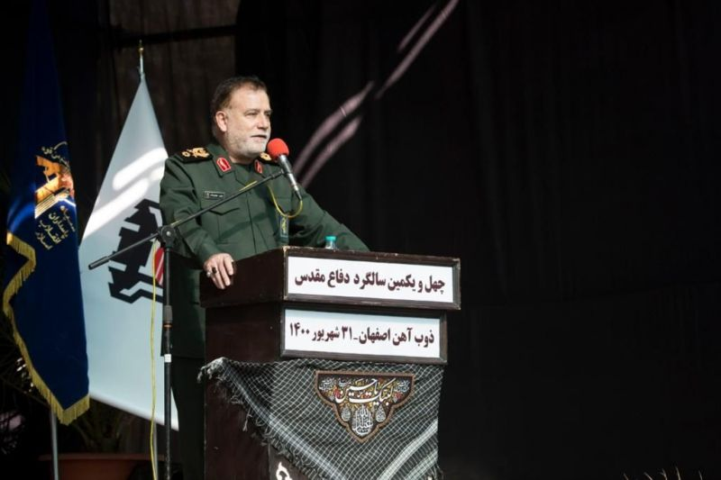 معاون عملیات فرماندهی کل سپاه پاسداران انقلاب اسلامی: