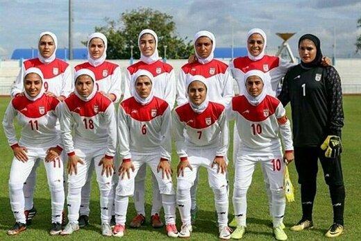 ساعت بازی فوتبال تیم ملی بانوان ایران و اردن در جام ملتهای آسیا 2022