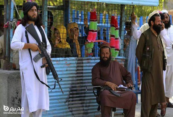 فیلم| رقص عجیب نیروهای طالبان در کابل+ صحبت های جدید احمد مسعود