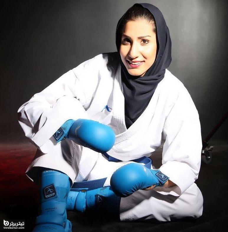 بیوگرافی حمیده عباسعلی کاراته کا ایرانی در المپیک توکیو 2020
