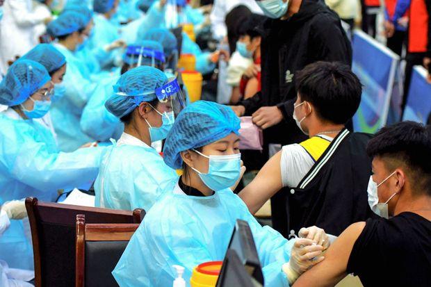 ماجرای واکسن زدن چینی ها در بیمارستان نیکان+فیلم