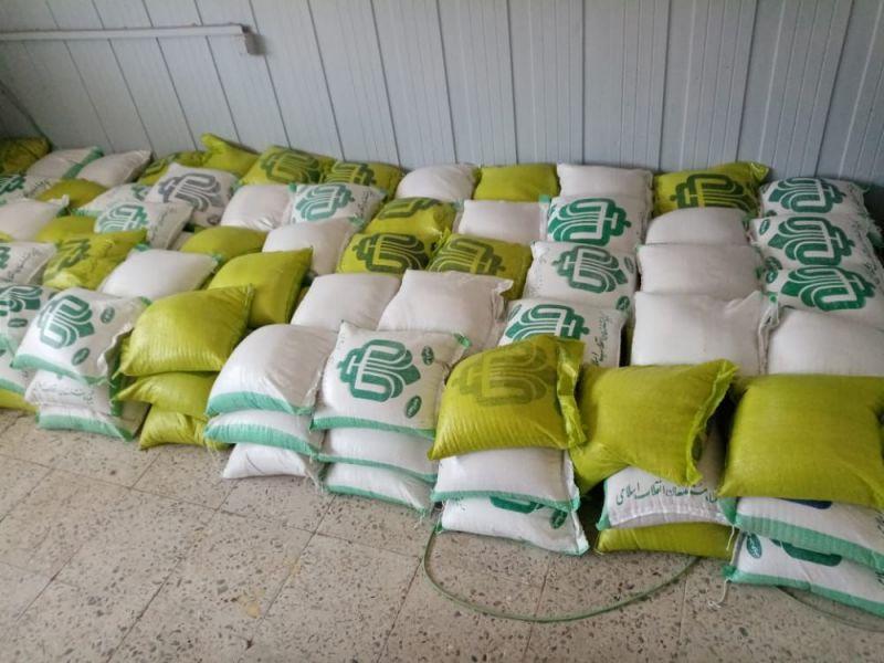 ۲۸۰۰ کیلوگرم برنج سر سفره کارگران خرمشهری رفت