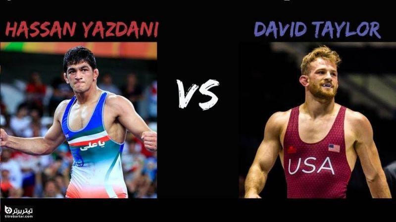 زمان مسابقه فینال حسن یزدانی با تیلور در المپیک توکیو 2020