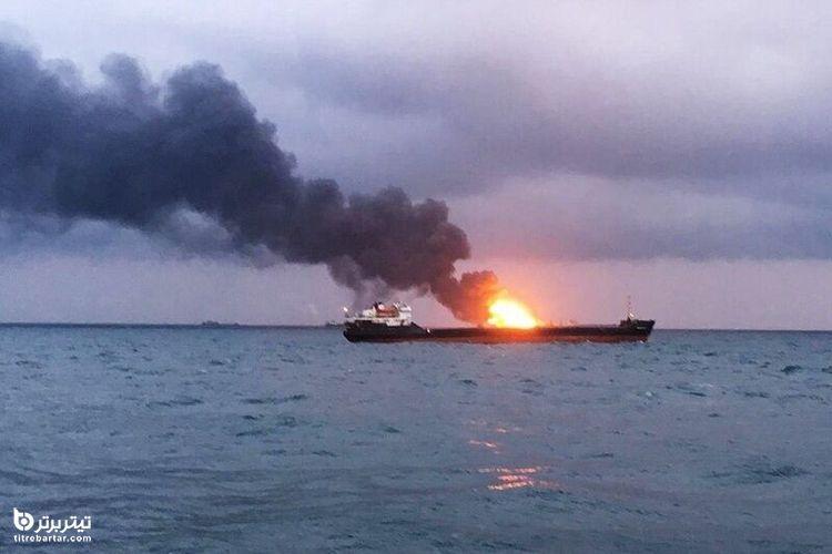 واکنش ایران به انفجار کشتی ایرانی در دریای سرخ
