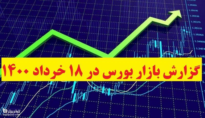 گزارش بازار بورس در 18 خرداد 1400+پیش بینی روز بعد