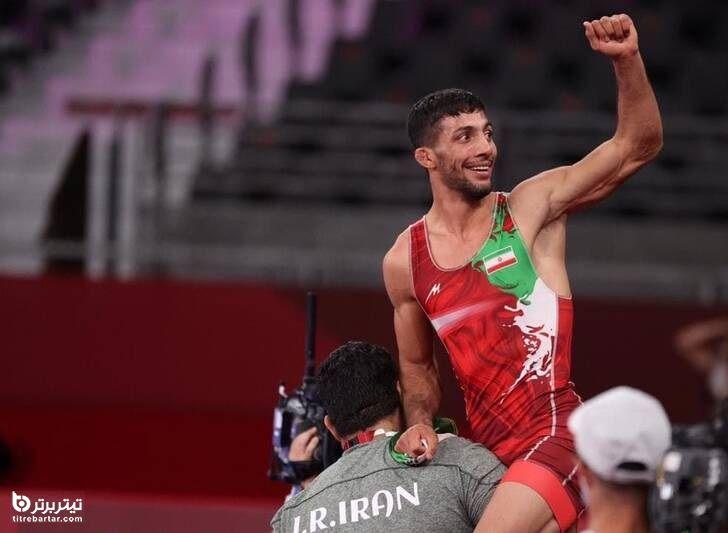 ساعت مسابقه محمدرضا گرایی در فینال قهرمانی کشتی آزاد نروژ 2021