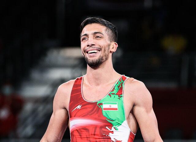 پایان کار ایران با مدال طلای محمدرضا گرایی در رقابت های جهانی 2021 نروژ