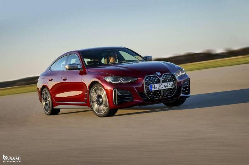 آشنایی با خودرو ب ام و سری ۴ گرن کوپه bmw seri 4 gran coupe مدل 2022