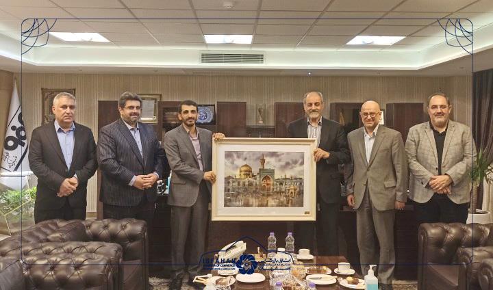 دردیدار رئیس و هیئت رئیسه اتاق بازرگانی اصفهان با مدیرعامل جدید فولادمبارکه تاکید شد: