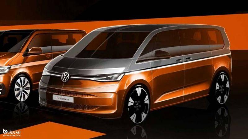 آشنایی با خودرو فولکس واگن Volkswagen T7 مدل 2022