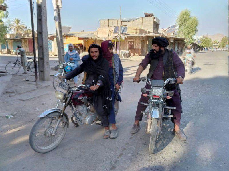 فیلم پیشروی سریع طالبان در سراسر افغانستان
