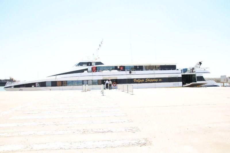 تصویر از برقراری مجدد خط مسافری دریایی بندر خرمشهر