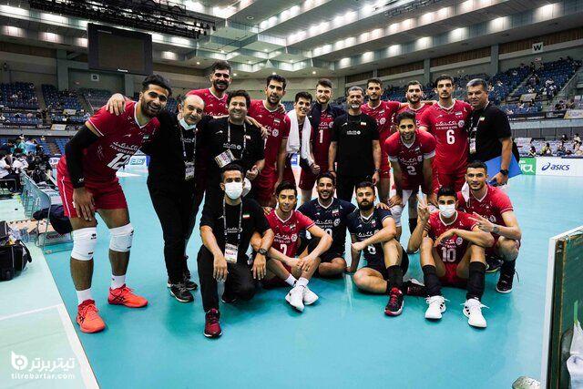 برنامه دور دوم والیبال ایران در قهرمانی آسیا 2021