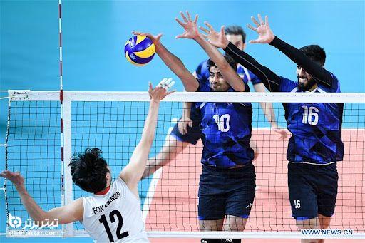 زمان بازی والیبال ایران – کره جنوبی در قهرمانی آسیا 2021