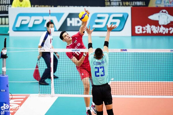 زمان بازی والیبال ایران – چین تایپه در قهرمانی آسیا ۲۰۲۱