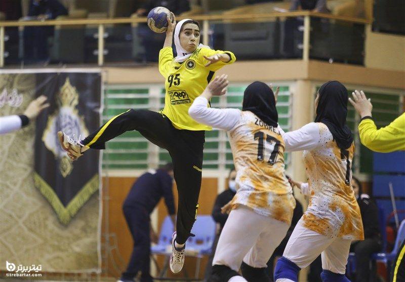 برنامه بازیهای هندبان بانوان ایران در قهرمانی آسیا 2021