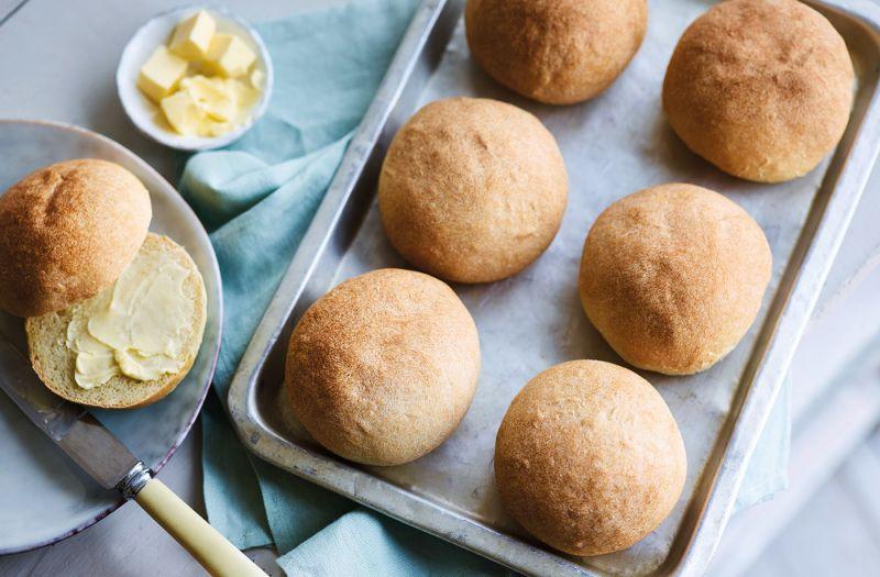 طرز تهیه نان های خوشمزه و ساده خانگی