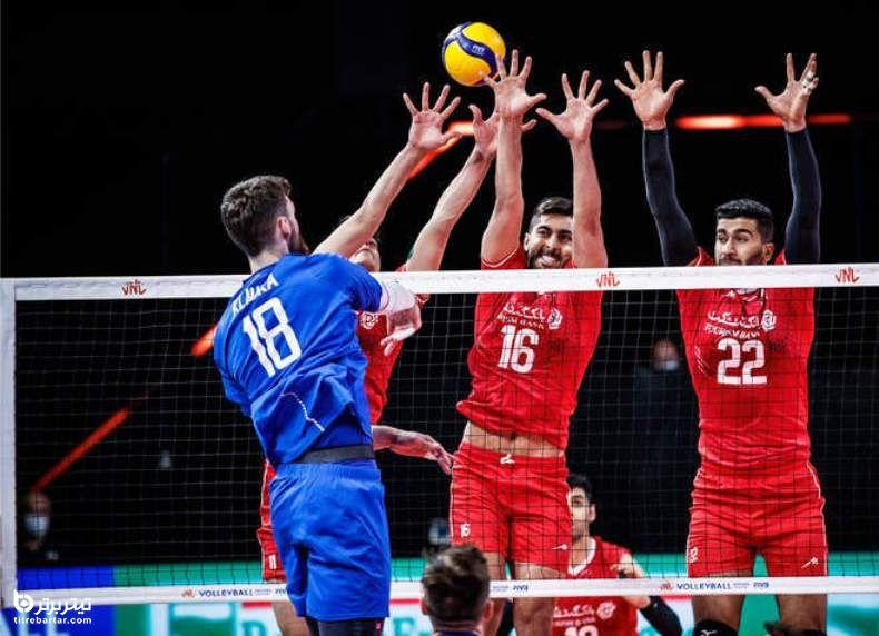پیش بینی نتیجه والیبال ایران - استرالیا
