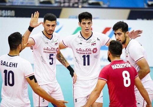نتیجه بازی والیبال ایران با چین تایپه+ بازی بعد