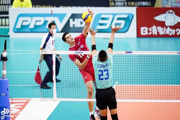 زمان بازی والیبال ایران با چین در نیمه نهایی قهرمانی آسیا 2021