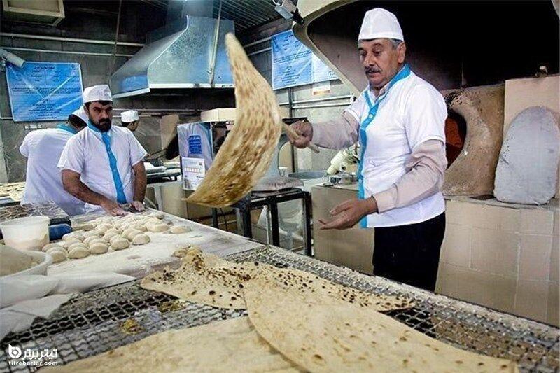 نرخ جدید نان از مرداد 1400