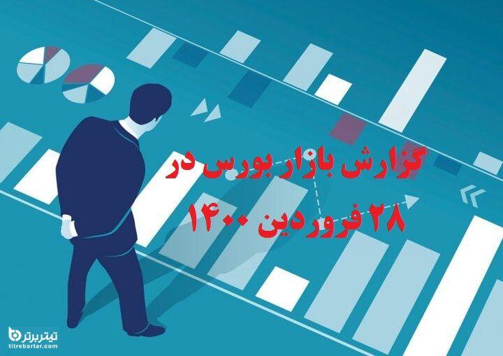 گزارش بازار بورس در 28 فروردین 1400+پیش بینی روز بعد