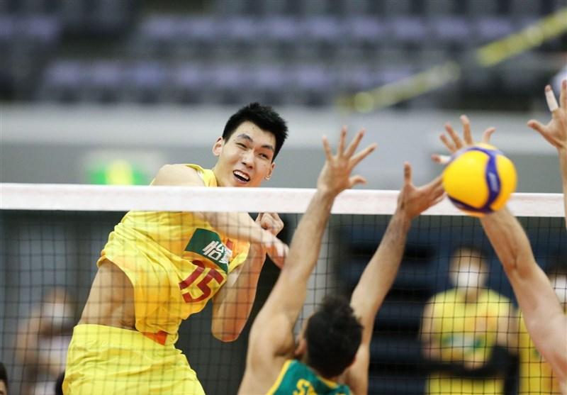 نتیجه بازی والیبال چین با چین تایپه در قهرمانی آسیا 2021